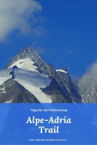 Tipps für das Weitwandern am Alpe-Adria-Trail