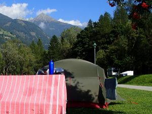 Alpe-Adria-Trail mit Zelt