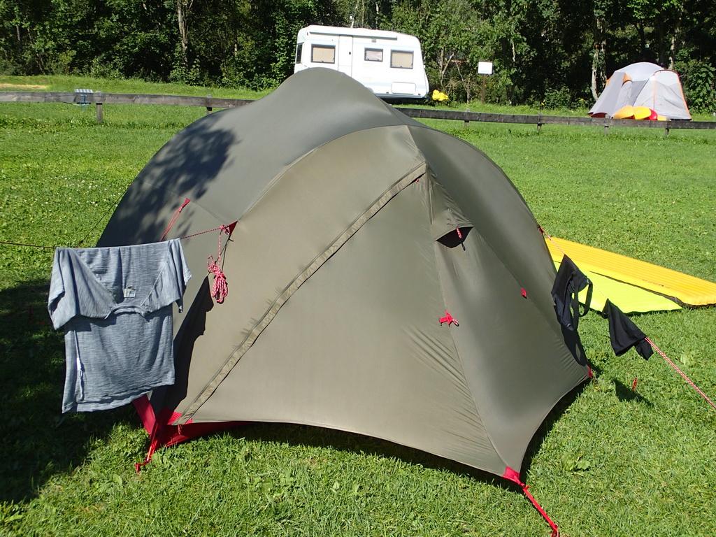 Campingplätze entlang des Alpe-Adria-Trail