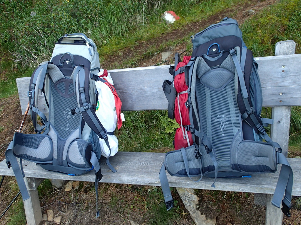 Packliste – Weitwandern mit Zelt