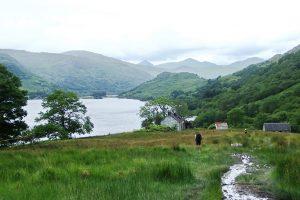 Doune Boghy am Loch Lomond